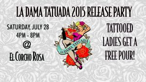 La Dama Tatuada Release Party | Valle Girl Vino